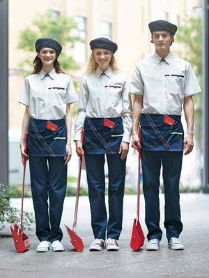 清掃・ビルメンユニフォームは「カッコいい」「かわいい」の時代に