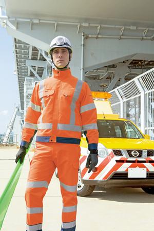 高視認性安全作業服の通販 - JIS T8127 ・ ブルゾン ・ ベスト 【ダイイチ】