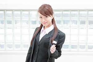 ベストで差が付く女性の事務服